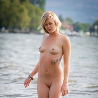 Sweet Afternoon - Blonde Hair, Pussy Lips, Shaved, Beach Voyeur, Sexy Ass, European And/or Ethnic , She Just Loves To Be Naked With Anyone. Taking Her Picture Is  Dream