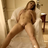 The Waiting - Blonde Hair, Hard Nipple, Natural Tits, Perfect Tits, Pussy Lips, Shaved , Waiting Is  Hardest Part.