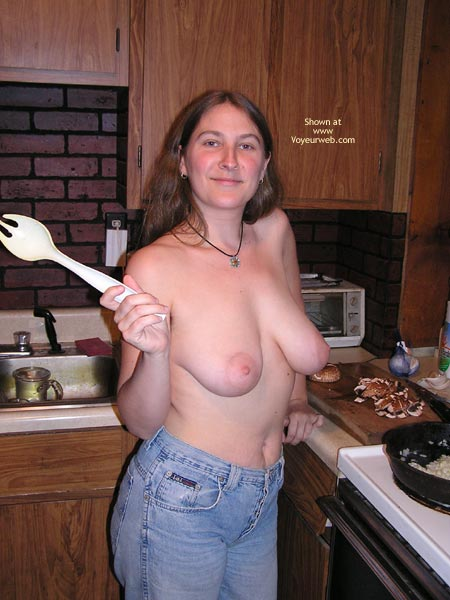Pic #1 Caught In The Kitchen