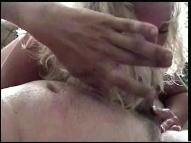 Pic #1Andi Doing a Little Riding - Blonde, Blowjob