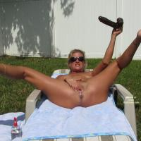 Playing in the Backyard Part 2 - Toy Fun!! - Masturbation, Nude Outdoors, Toys , Thanks For All The SEXY And NAUGHTY Comments From Part 1!! Keep Them CUMMING!!!