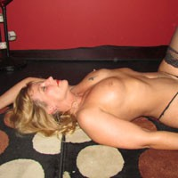 Jasmine's Red F-me Heels - Blonde Hair, Heels, Perfect Tits, Sexy Lingerie , After Hours Of Risqué Public Modeling, Jasmine Gets More Aroused.  These Red Heel Pics Are A Prelude To Her Using Toys For RC Photos!