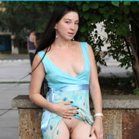 Milf Kiki - Brunette Hair, Exposed In Public, Flashing, Hard Nipple, Nude In Public, Perfect Tits, Pussy Lips, Shaved, Dressed , In The City :)