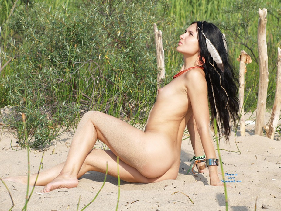 Amazon Goes .... - Brunette Hair, Hard Nipple, Pussy Lips, Shaved, Small Tits, Beach Voyeur, Sexy Ass, European And/or Ethnic , Amazon Goes .... Until We Meet Again!