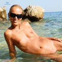 Makarska Riviera - Blonde Hair, Close Up, Hard Nipple, Pussy Lips, Shaved, Small Tits, Wet, Beach Voyeur, Sexy Ass , I Found This Beach, Where I Could Enjoy The Water And The Sun Only Naked. It Was A Big Challange To Select The Photos For VW. Enjoy Them! Monika