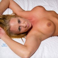 Everything But The Boots ! - Big Tits, Blonde Hair, Hard Nipple, Navel Piercing, Pussy Lips, Shaved, Tattoo, Sexy Ass