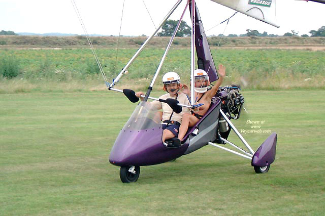 Topless In Aircraft - Exhibitionist, Topless, Naked Girl, Nude Amateur , Ultralight, Action Shot, Flying Naked, With Helmet, Pilots Helmet, Topless Co-pilot, Ultralight Fun, Flying Topless, Barely Visible Nude With Man In Ultralight, Motor Glider, Flying Nude