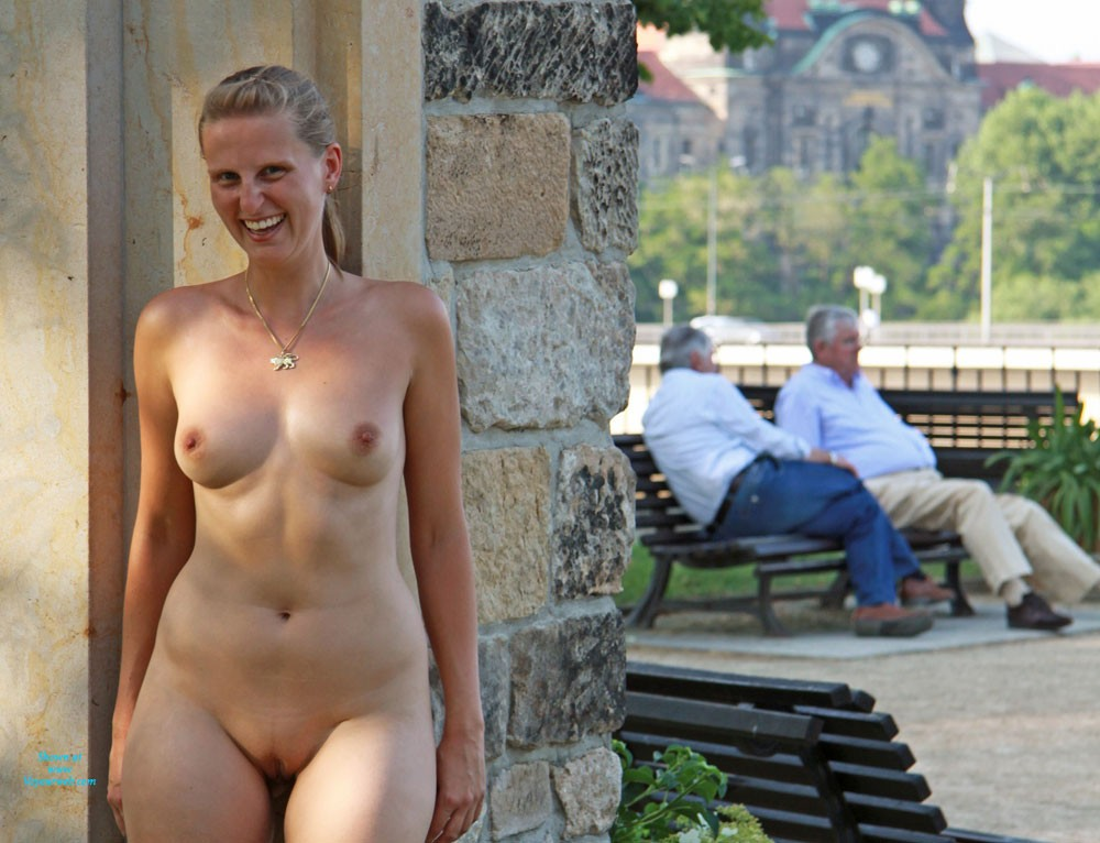Bri Nude in Dresden City - Exposed In Public, Flashing, Hard Nipple, Nude In Public, Perfect Tits, Pussy Lips, Shaved , Bri Is A New Hot Attraction In Dresden City (Germany)!   Some Of The Tourists Were Very Surprised And Amused When They Saw Bri Nude In The City Center.   Bri Had A Lot Fun Bringing Joy To All The People Around. But Also Their Reactions And Comments Were An Extraordinary Experience For Us.  We Are Looking Forward To Your Comments, Which Surely Will Motivate Bri To Do More Nude In Public Contris!  Cheers, Bri & Traegicomix