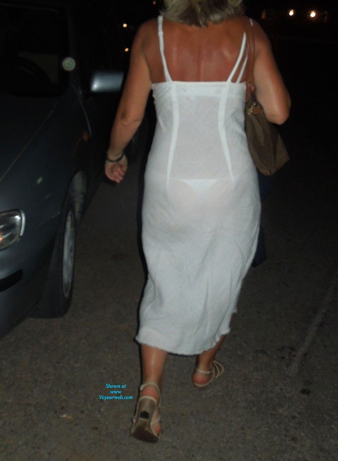 with dress See thong through