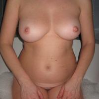 Medium tits of my wife - Sunshine