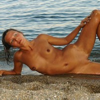 Naughty Beach - Brunette Hair, Hard Nipple, Long Legs, Natural Tits, Round Ass, Shaved, Small Tits, Beach Voyeur, Sexy Ass , Thank You For All Your Comments And Votes Very Much ))