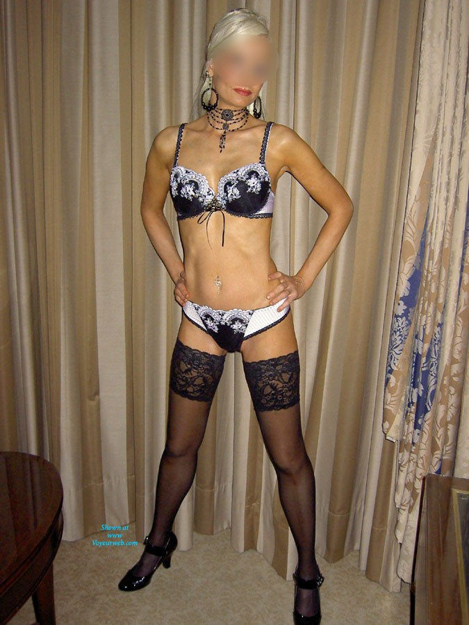 Pic #1Some Pictures of Me - Blonde, Lingerie, Hard Nipples, Natural Tits, Pussy, Shaved, Small Tits