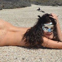 Beach and More Beach - Brunette Hair, Hard Nipple, Natural Tits, Perfect Tits, Pussy Lips, Shaved, Wet, Beach Voyeur, Sexy Ass, Costume