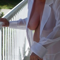 Large tits of my wife - Lovely Lynne