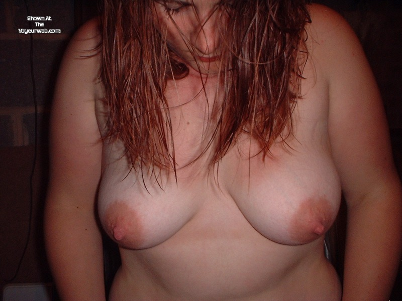 Pic #1Medium tits of my girlfriend