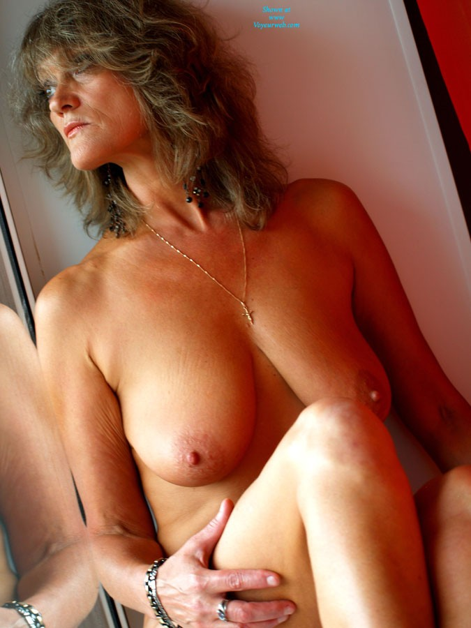 Pic #1Window - Mature, Big Tits, Blonde, Firm Ass, Pussy, Shaved