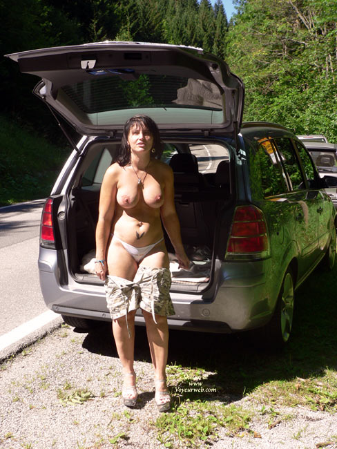 Alex Naked At The River , Alex Naked At A Public River<br />That Is Not A River For Naked Bathing!<br />Hot Weather Hot Women