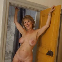 Butterfly Babe Exposes in Stockholm Hotel Room - Tattoos, Mature, Big Tits, Blonde, Pussy