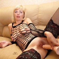 My Wife Anna (Set 2) - Blonde Hair, Heels, Shaved, Sexy Lingerie, Toys, Wife/wives