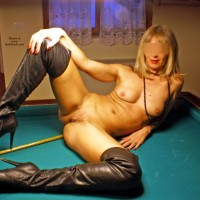 Sexybionda and The Cue - Blonde, High Heels Amateurs, Shaved