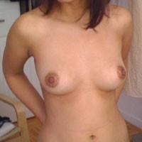 Landing Strip - Round Ass, Bush Or Hairy, Brunette, Firm Ass, Medium Tits, Pussy