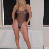 Yes......I'm 40 yrs old ! - Blonde, Lingerie, Mature, Costume, High Heels Amateurs, Pussy, Medium Tits