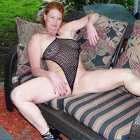 Me and Mesh - Redhead, Shaved