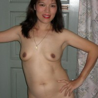 Its Been a Long Time - Brunette, Medium Tits, Shaved