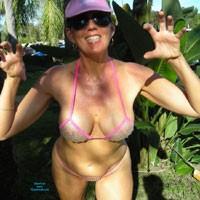 Bubble Wrap Bikini - Bikini, Exposed In Public, Hairy Bush, Nude In Public , Little Imagination Required