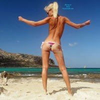 Holiday Photos - Bikini, Blonde Hair , Some Photos From Holiday In Tuscany And Crete