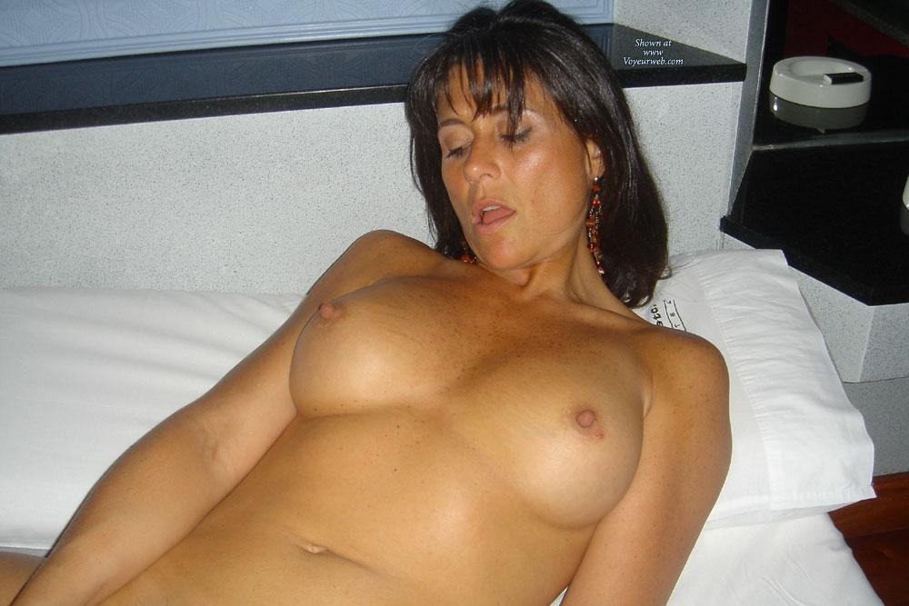 Italy - Big Tits, Brunette Hair, Hairy Bush , From NAPOLI