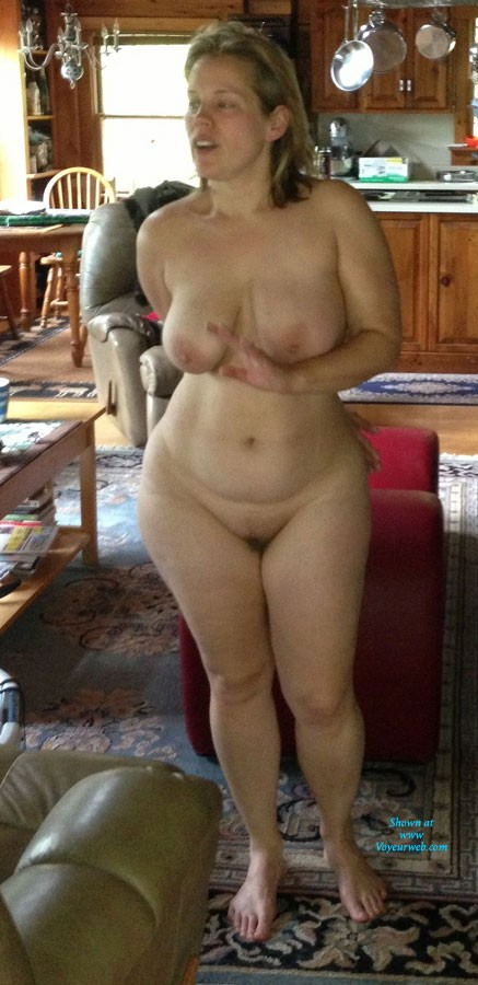 Pic #1Jen Exposed For The First Time - Big Tits, Blonde