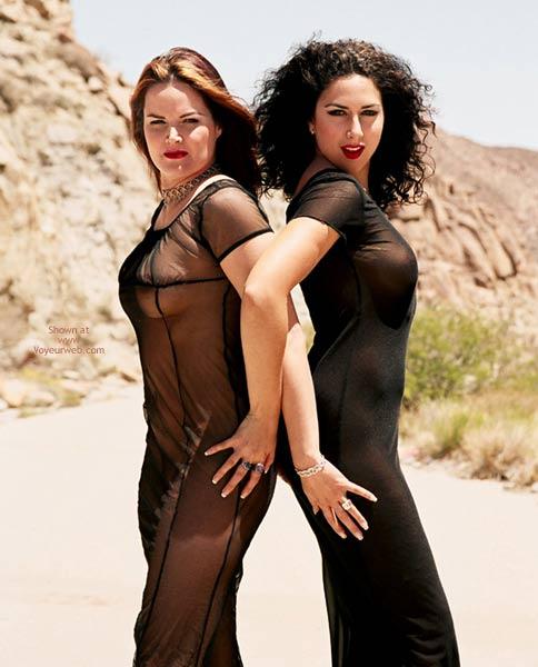 Black Sheer Dress , Black Sheer Dress, Bond Girls