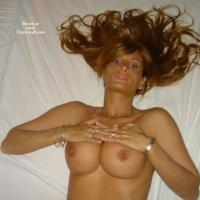 Sandy - Big Tits, Lingerie, High Heels Amateurs, Redhead
