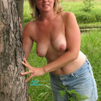 At The Campsite - Big Tits