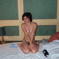 Home Pics - Brunette, Small Tits, Bush Or Hairy, Young Woman