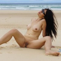 Playing On The Beach - Asian Girl, Brunette Hair, Beach Voyeur, Wife/wives , My Wife, Summer Time, Like Too Much Play On The Beach Naked And She Like When I Take Photo. I Show You Some, I Hope You Will Like