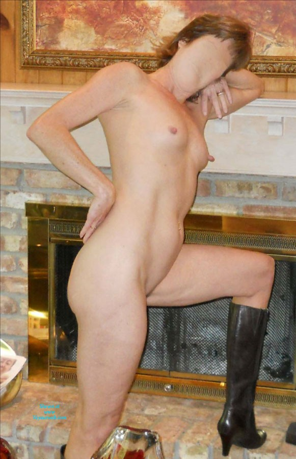 Pic #1Long Legged Wife - High Heels Amateurs, Long Legs, Wife/wives, Round Tits, Small Tits