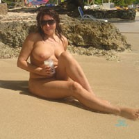 Fun On The Beach - Part 2 - Big Tits, Beach Voyeur , Continuation Of Photoshoot That Took Place During Our Vacation In Hedo. Tanya Loved Reading The Comments In Part 1, So Here Are Some More Pictures..