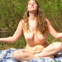 Outdoors - Big Tits, Nude Outdoors , Outdoors, Outdoor Nude, Cross Legged, Big Tits, Big Areole