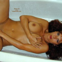 Bath - Bath, Pleasure, Shaved Pussy, Water , Bath, Water, Brunette In Tub, Tub Pleasure, Water Pleasure, Shaved Pussy