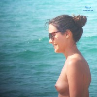 Topless Dans le Sud - Beach, Small Tits