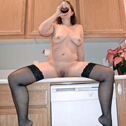 Spreading Legs While Drinking - Big Tits, Brunette Hair, Full Nude, Hanging Tits, Huge Tits, Indoors, Natural Tits, Nipples, Shaved Pussy, Showing Tits, Stockings, Hot Girl, Naked Girl, Sexy Body, Sexy Boobs, Sexy Feet, Sexy Figure, Sexy Girl, Sexy Legs, Sexy Woman , Naked, Brunette, Kitchen, Stockings, Spread Legs, Pussy Lips, Big Tits, Kitchen