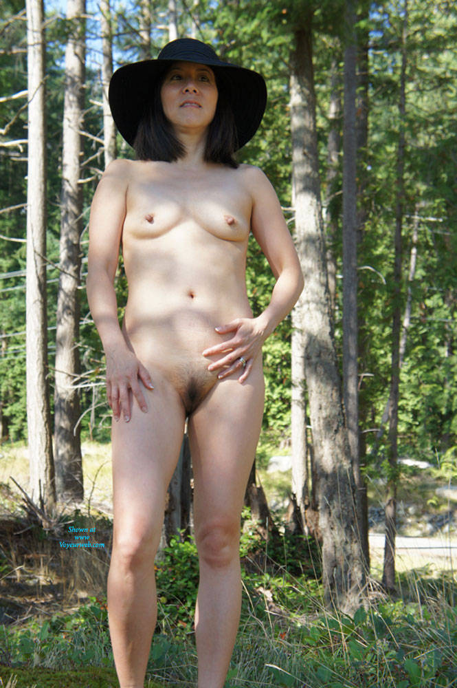 Shaved Asian on Bowen Island - Asian Girl, Brunette Hair, Nude In Public, Small Tits, Wife/wives , My Cum Slut Of A Wife Loves To Get Naked In The Great Outdoors So Last Summer She Stripped Down To Her Bush And Hard Nipples For All To See. Two 19 Year Old Hikers Did Notice And Enjoyed Getting An Awesome Cock Sucking From This Whore Of A Cum Slut Who Swallowed Every Sweet Hot Drop Of Cum.
