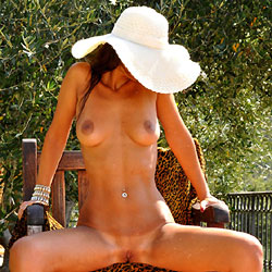 Sfizy and The Olive Tree - Big Tits, Shaved , Sfizy, The Olive Tree And Too Many Midges...