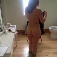 A neighbor's ass - Hot Scandinavian MILF
