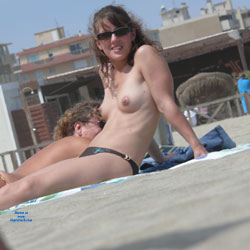 Sitting Topless At The Beach - Bikini, Brunette Hair, Erect Nipples, Exposed In Public, Firm Tits, Hard Nipple, Nipples, Nude Beach, Nude In Public, Nude Outdoors, Showing Tits, Topless Beach, Topless Girl, Topless Outdoors, Topless, Beach Tits, Beach Voyeur, Sexy Body, Sexy Boobs, Sexy Figure, Sexy Girl, Sexy Legs, Sexy Woman , Brunette, Sunglasses, Topless, Nude In Public, Beach, Firm Tits, Bikini