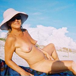 Slut Linda For Your Pleasure - Beach, Medium Tits