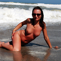 Mediterranean Frolics - Big Tits, Brunette Hair, Beach Voyeur , Just Some Pics From Hols ;)