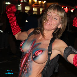 Painted Big Tits In Mardi Gras - Artistic Nude, Big Tits, Blonde Hair, Erect Nipples, Exposed In Public, Firm Tits, Huge Tits, Nude In Public, Showing Tits, Topless Girl, Topless Outdoors, Topless, Sexy Boobs, Sexy Face, Sexy Woman , Blonde Girl, Nude In Public, Painted, Big Tits, Topless